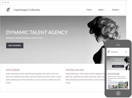 Professionally Designed & Creative Template
